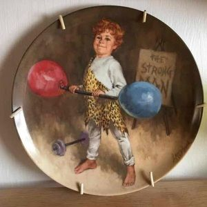Vintage Collector Plate Tommy the Clown